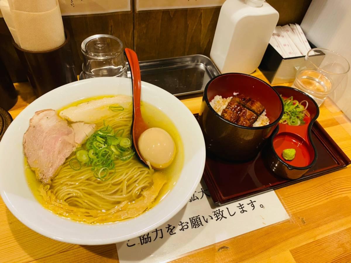 川口市の人気ラーメン店『自家製麺 竜葵(ほおずき)』で『塩そば』『ひつまぶし』行って食べて見た。