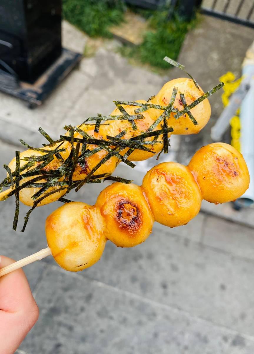 小江戸・川越で食べ歩き満喫『いも恋』『時の鐘しょうゆ団子』『秘伝の味噌焼き鳥』『焼き立てフォンダンショコラ』他買って食べてみた。
