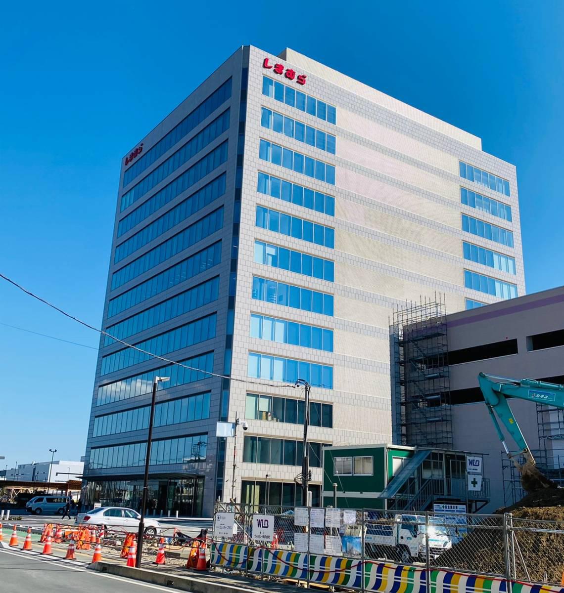 さいたま新都心駅東口に『しまむら』本社が移転!2020年3月下旬に本社棟の隣に『さいたま新都心ファッションモール』がオープン。
