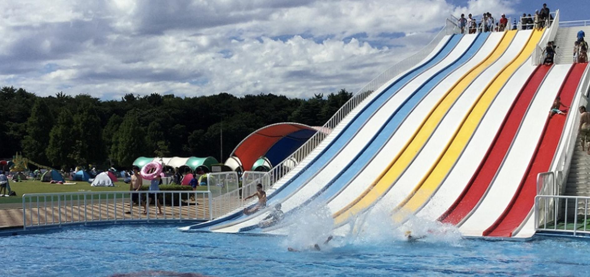 『さいたま』『しらこばと』『川越』『加須はなさき』の県営4水上公園が2021年7月31日(土)から夏季プールをオープン!
