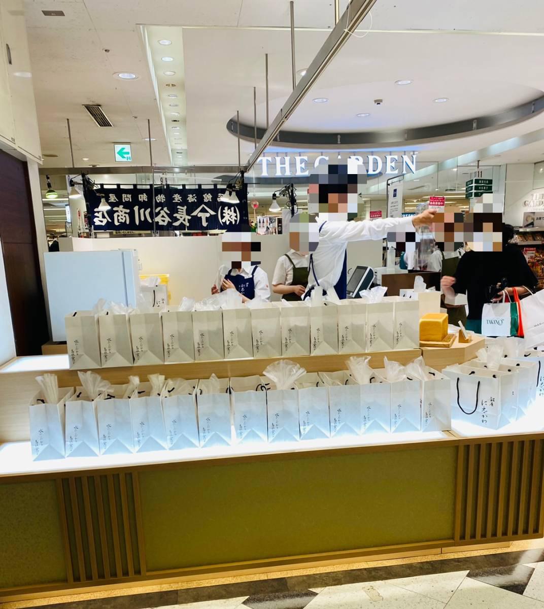 2021年7月16日に埼玉県3店舗目となる『銀座に志かわ そごう大宮店』がオープン!